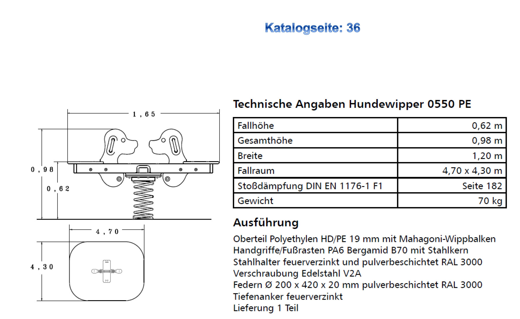 Hundewipper 0550pe tech